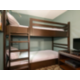 Kid's Suite featuring bunk beds and an Xbox.