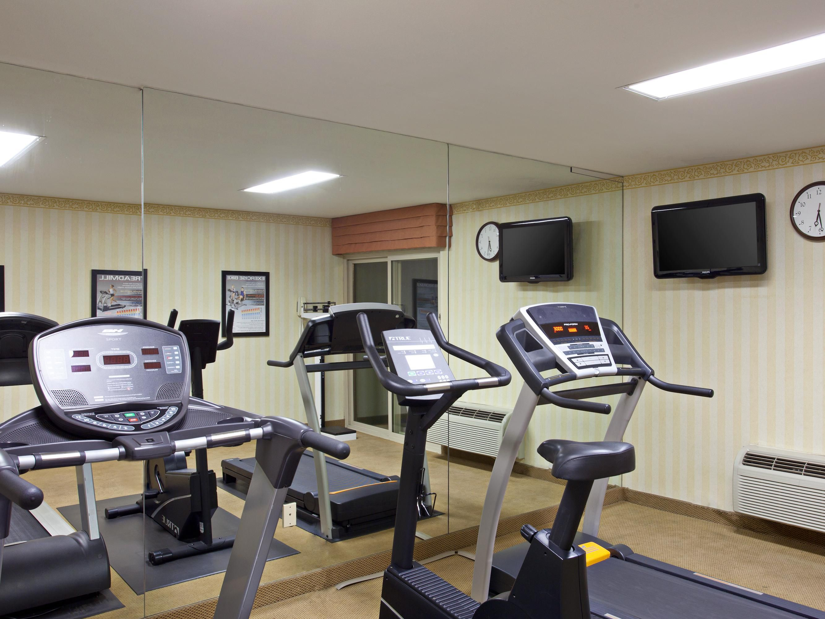Fitness Center open 5am- 10pm