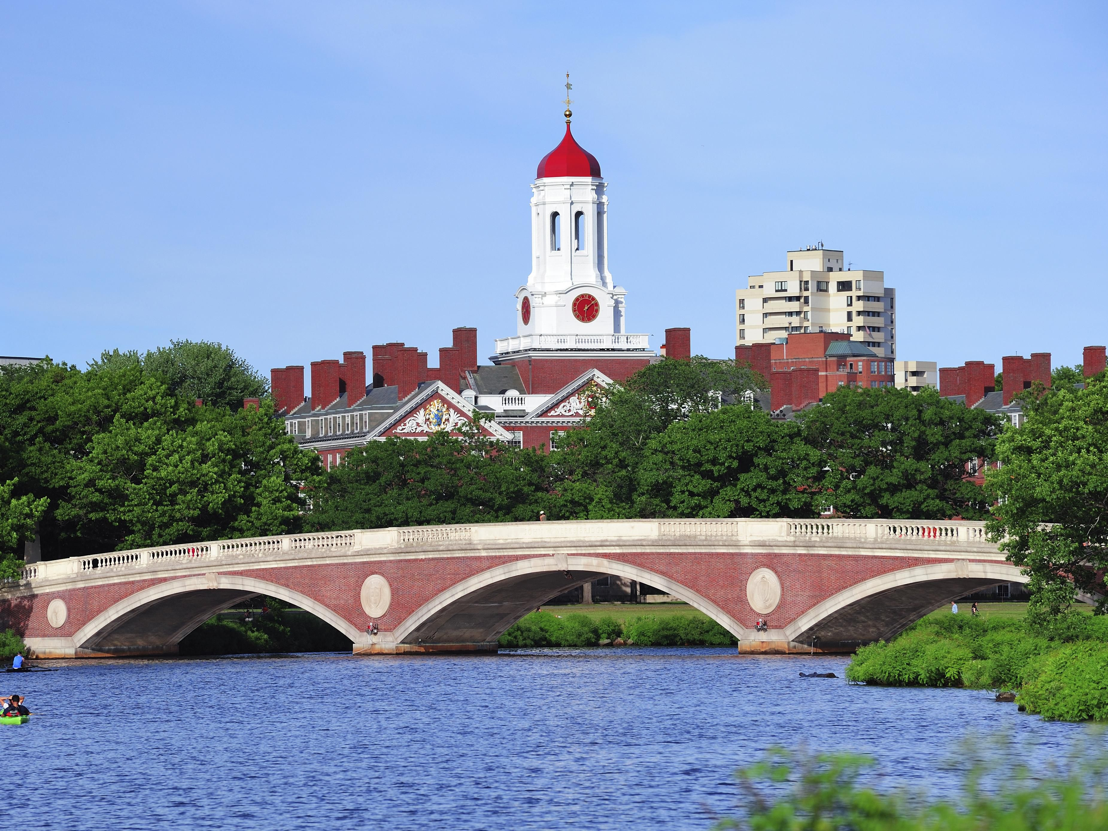 Harvard over the Charles River