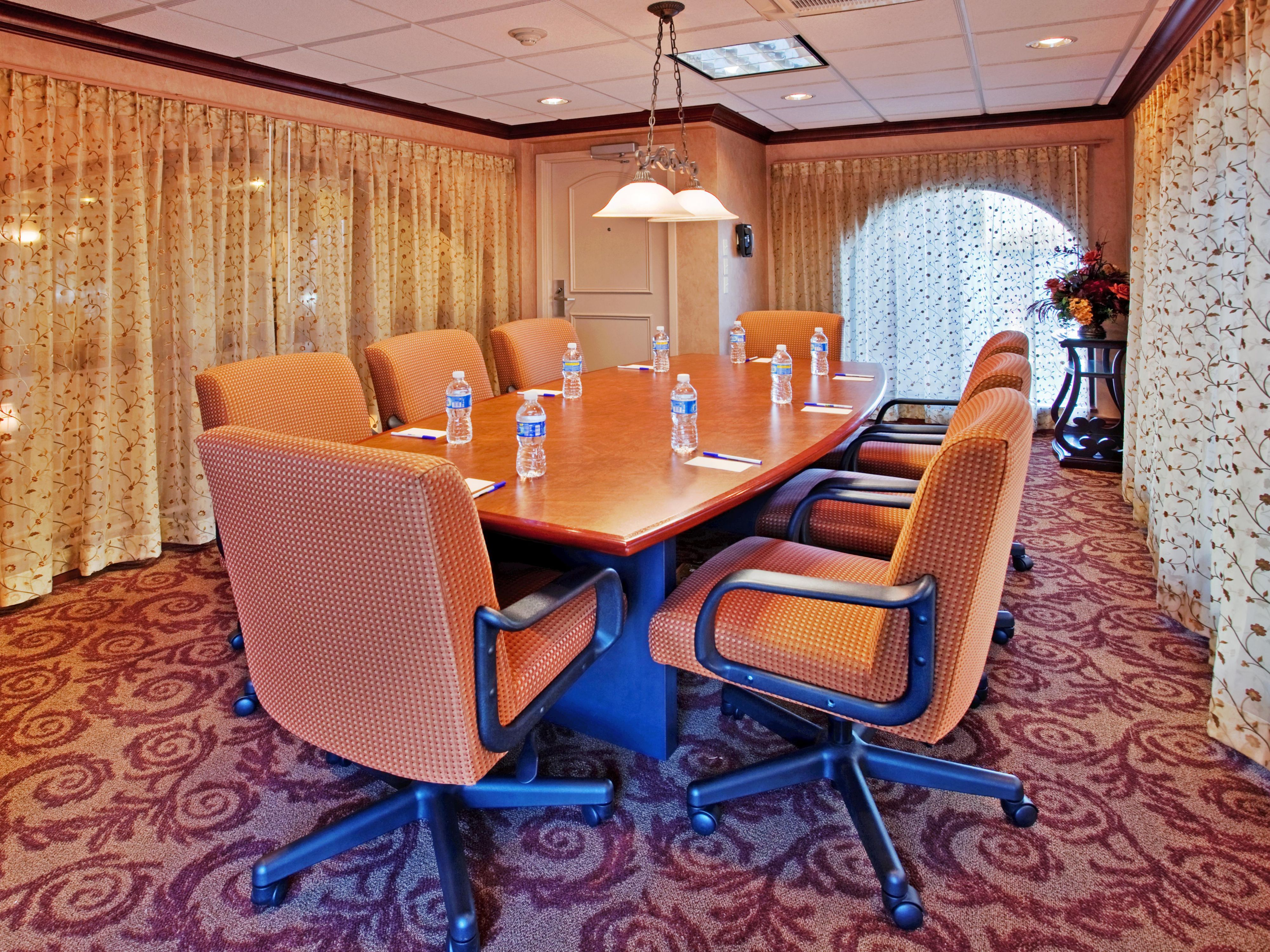 The LaSalle Room- perfect for a business meeting.