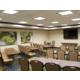 Lorimier Room set Classroom Style
