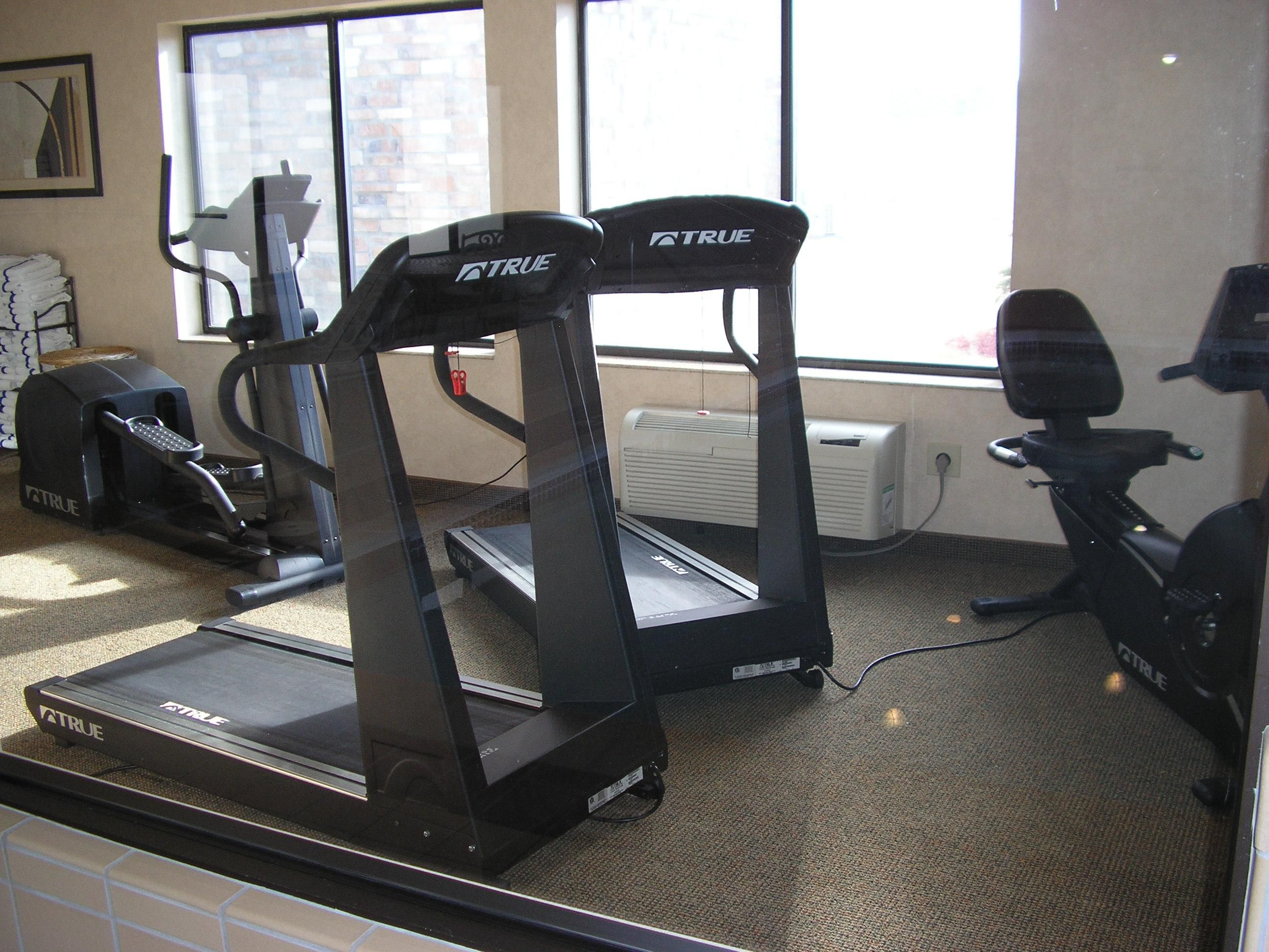 On-Site Cardiovascular Fitness Center
