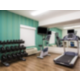 Fitness room with State of the art equiptment.