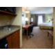 Queen Executive featuring wet bar, microwave and fridge
