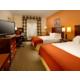 Double Bed Room has mini-fridge, microwave, Keurig & free WiFi