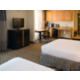 ADA Two Queen Bed Suite with Sofa and Kitchenette