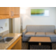 ADA Two Queen Suite with Sofa and Kitchenette