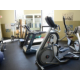 Fitness Center with cardio, weights and multi-purpose machine