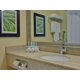Clean and spacious Guest Bathrooms