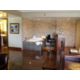 Presidential Suite's Jacuzzi and bar area with sink and fridge