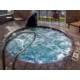 Our jacuzzi is a great place to unwind after a busy day.