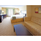 All of our suites have pull out couches.