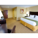 Choose from a room with one king bed