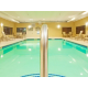 Take a dip in our heated pool after a long day of work
