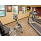 Our fitness center features HDTV and Music.