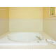 Garden Tub in Honeymoon Suite