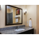Guest Bathroom with granite countertops