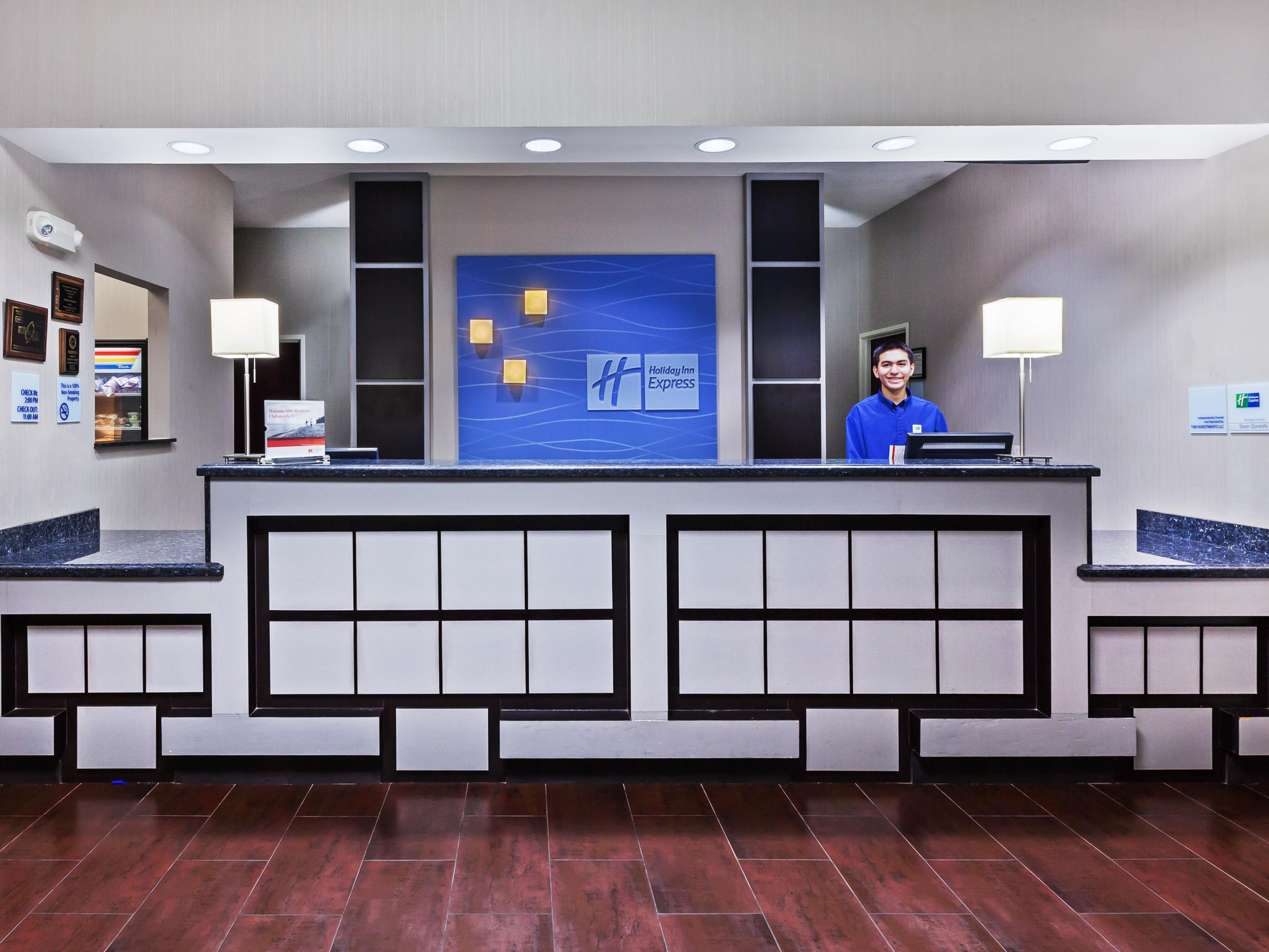 Our Front Desk