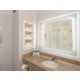 Glass Shower in Bathroom