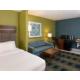 Two Queen Handicap Accessible Suite with sofa sleeper