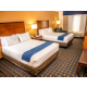 Come stay in our beautiful and spacious two queen bedded room.