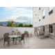 Enjoy the outdoor patio with access to indoor pool