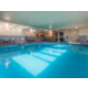Take a dip in our indoor heated pool.