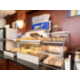 Hot Buffet Breakfast with signature cinnamon buns at HIE