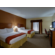 Our family friendly spacious guest rooms can fit a family of 4.