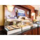 Complimentary hot buffet breakfast - served daily