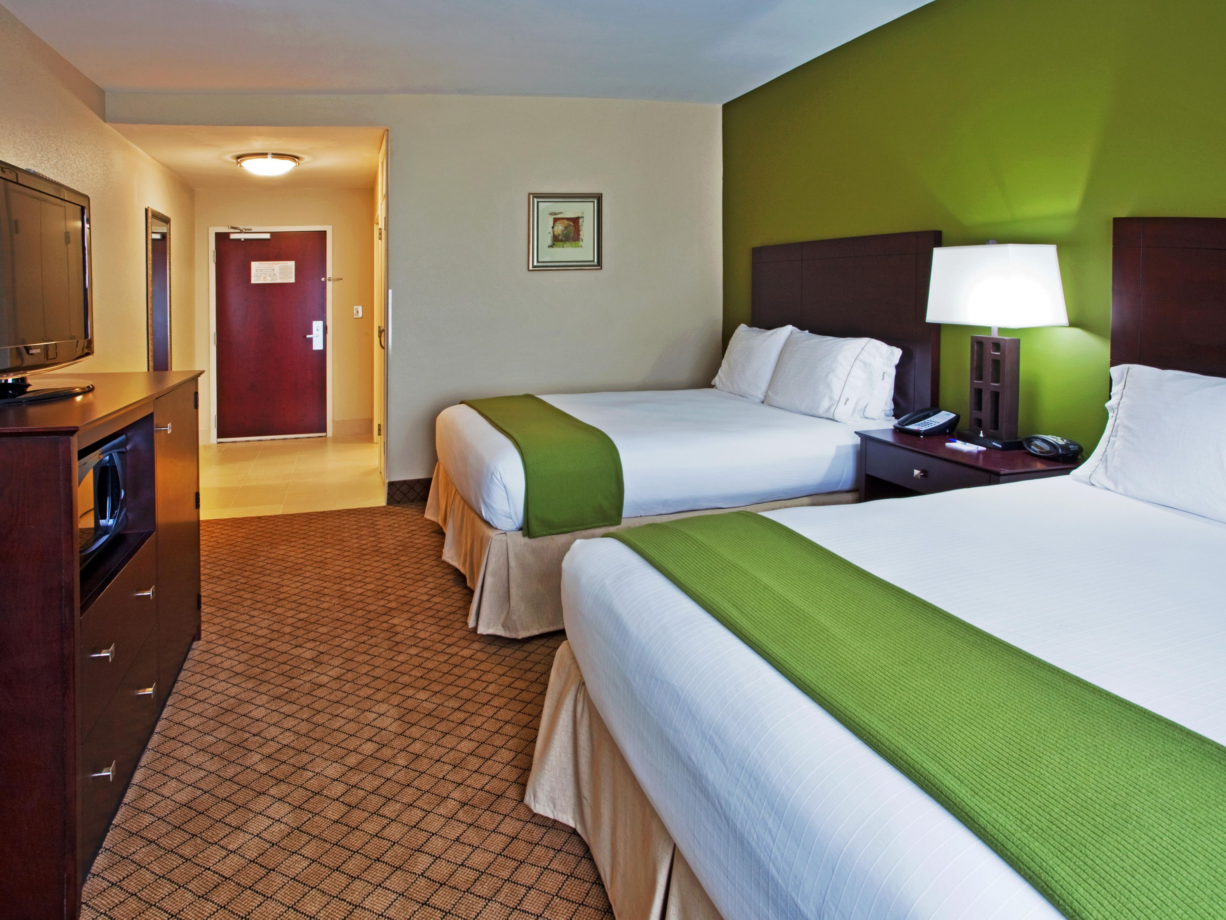 Double Bed Room Holiday Inn Express Columbus-Fort Benning