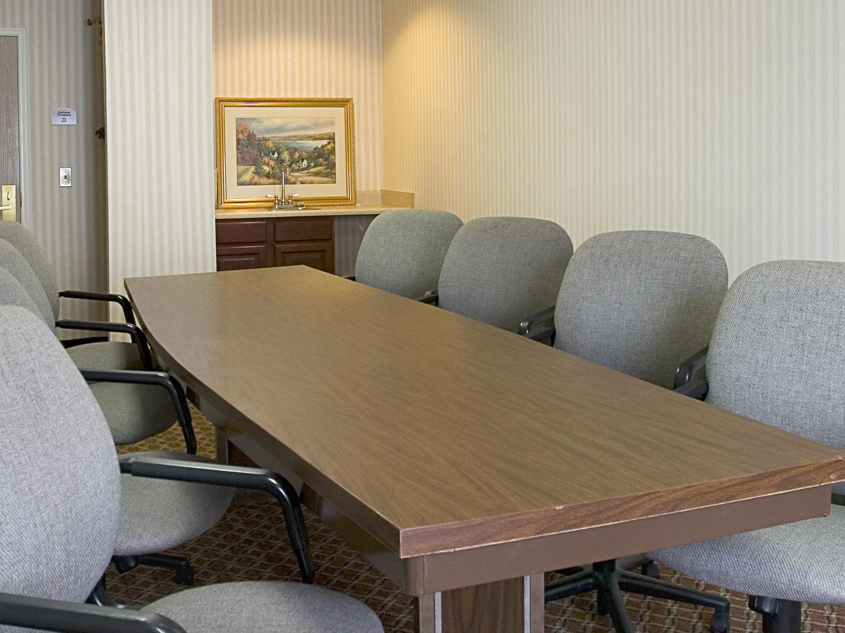 Get business done, in our boardroom.