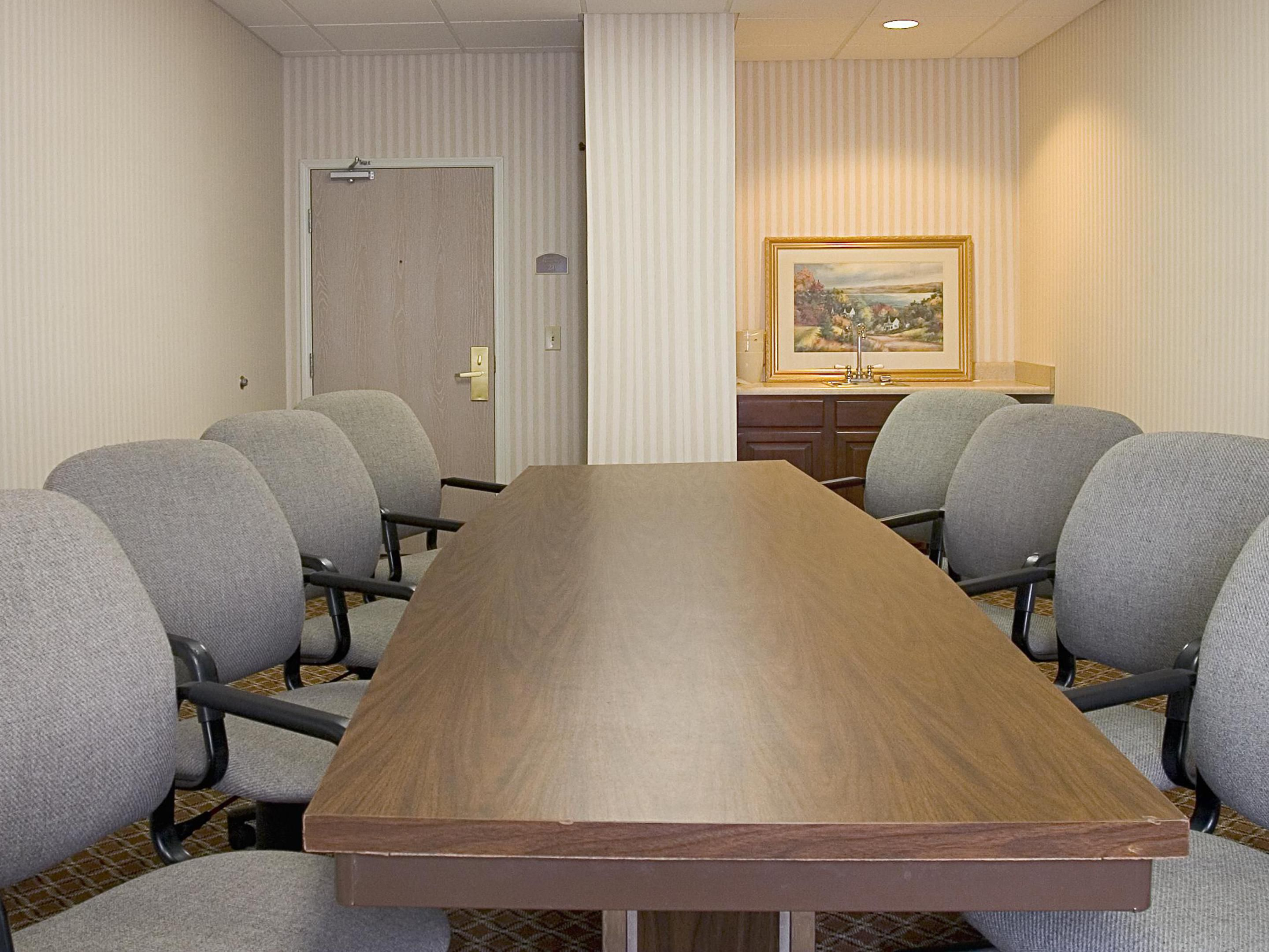 Our affordable boardroom.