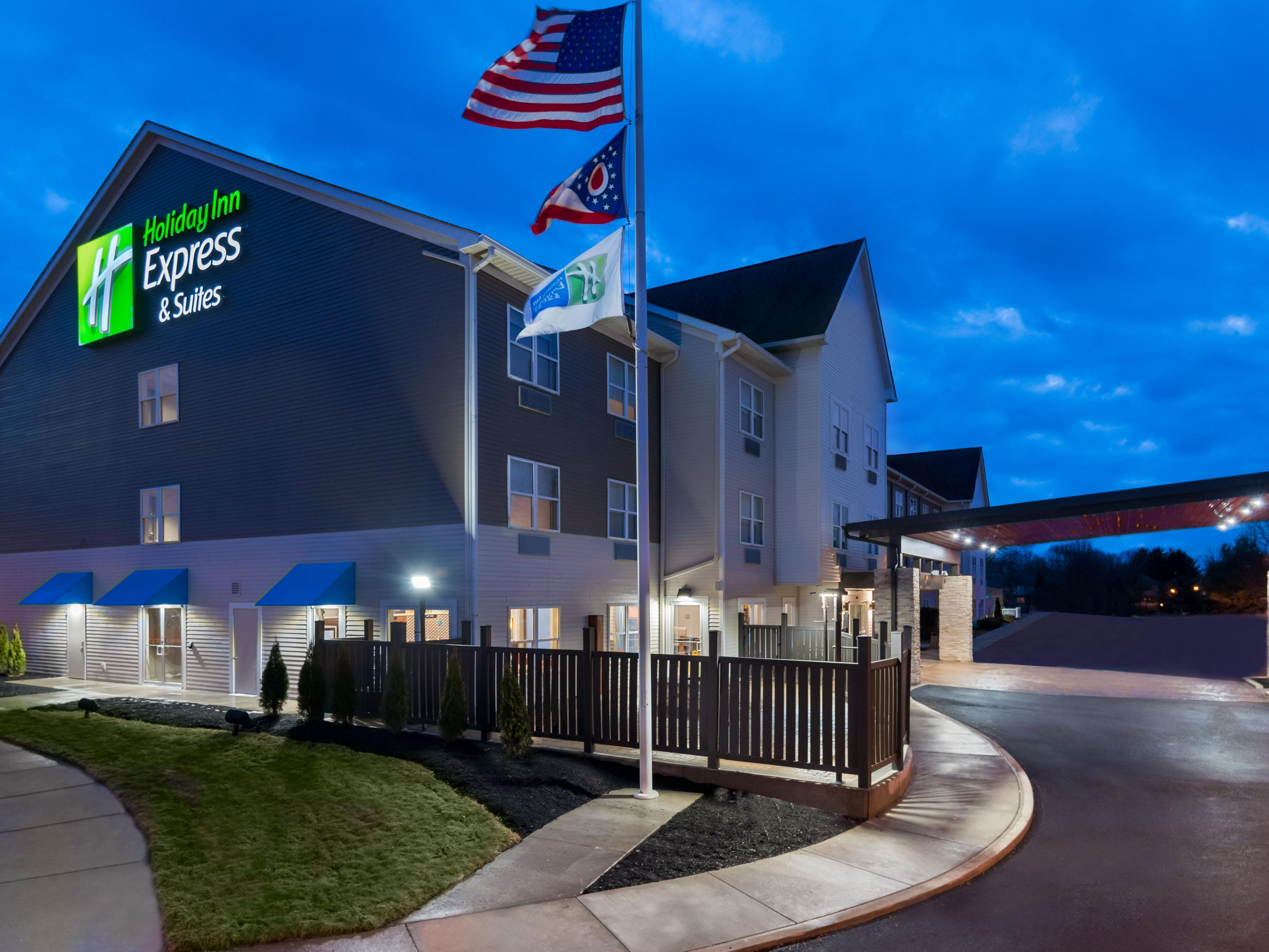 Holiday Inn Express Suites Columbus Airport East Hotel In Columbus