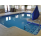 Heated indoor pool at Holiday Inn Express Concordia