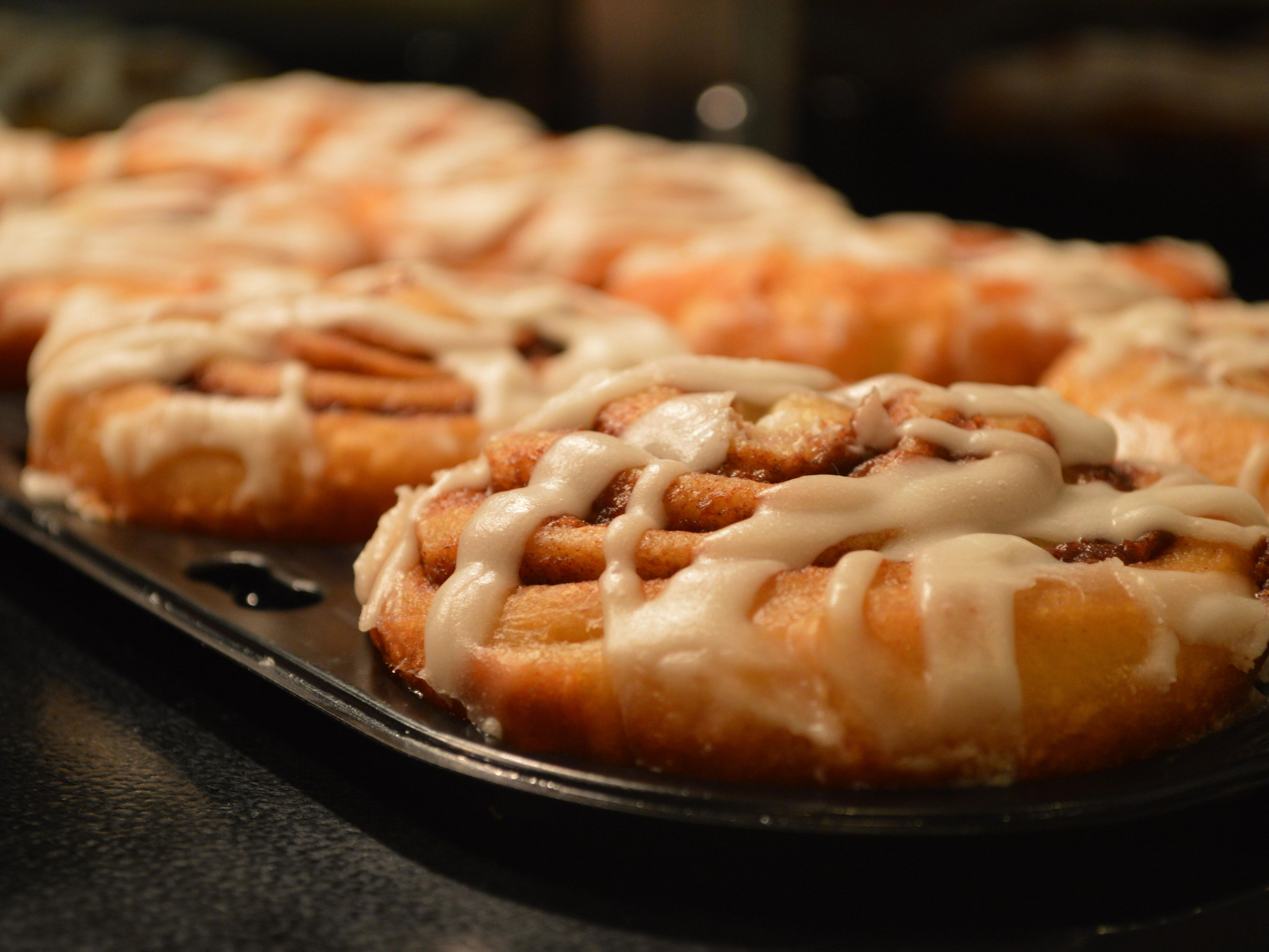 Enjoy our exclusive Holiday Inn Express cinnamon rolls