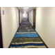 Newly remodeled guest hallways