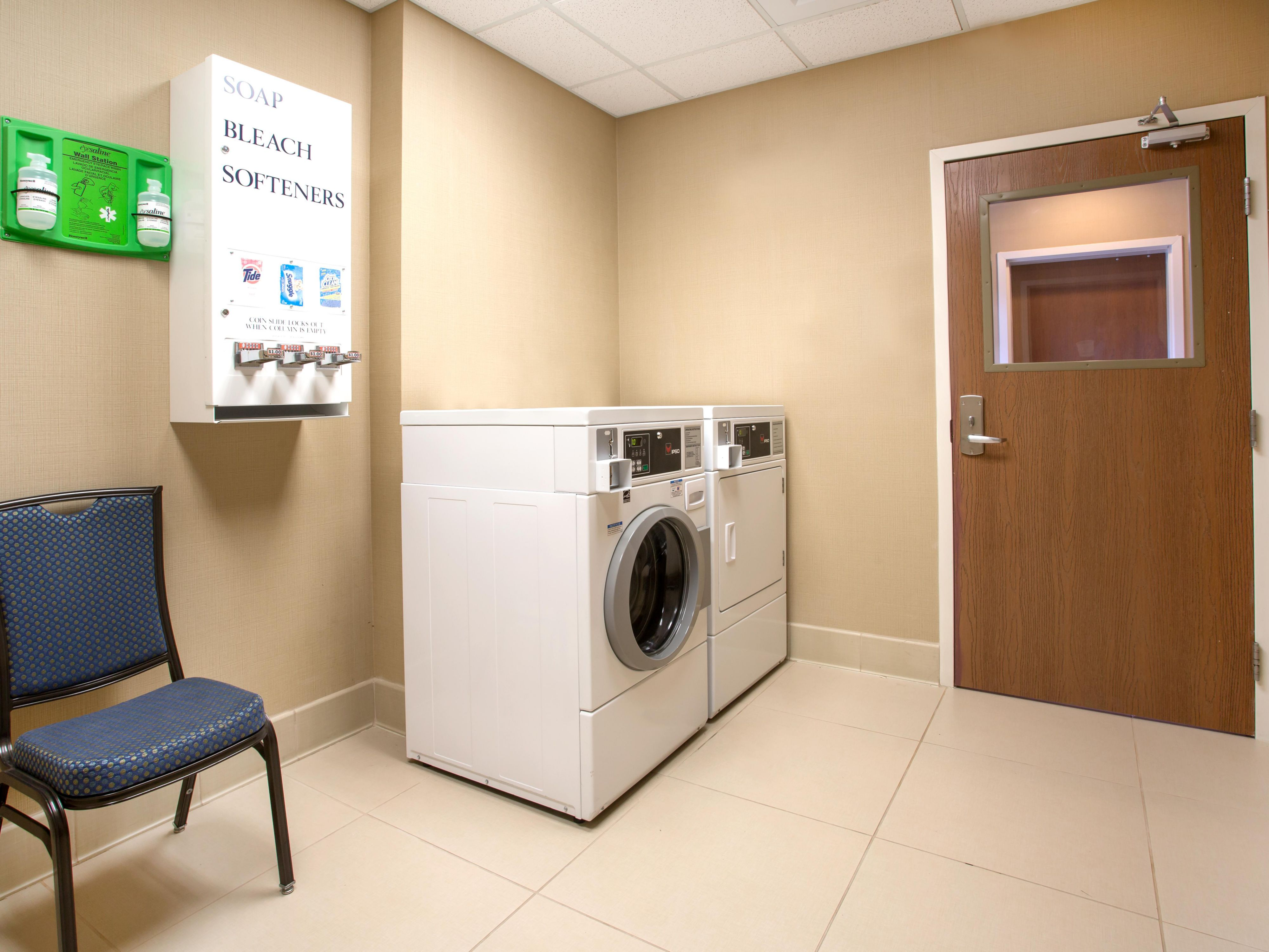 Our Laundry Room is available for your convenience