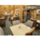 Enjoy ample seating for breakfast in our spacious Breakfast Area