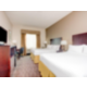 Two Queen Guest Room Holiday Inn Express and Suites Cutoff La