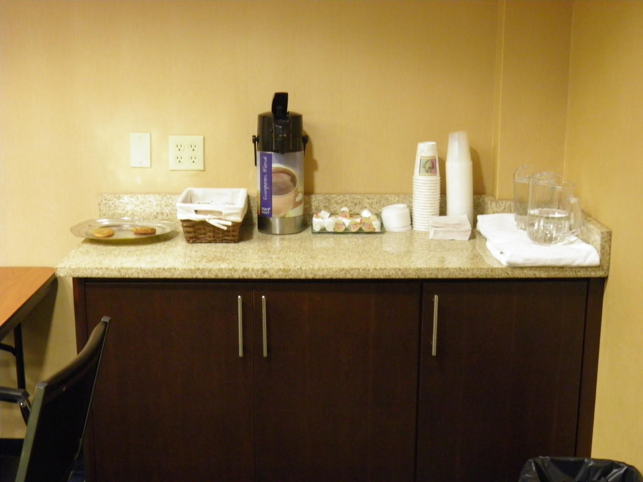 Refreshment Area in Meeting Room