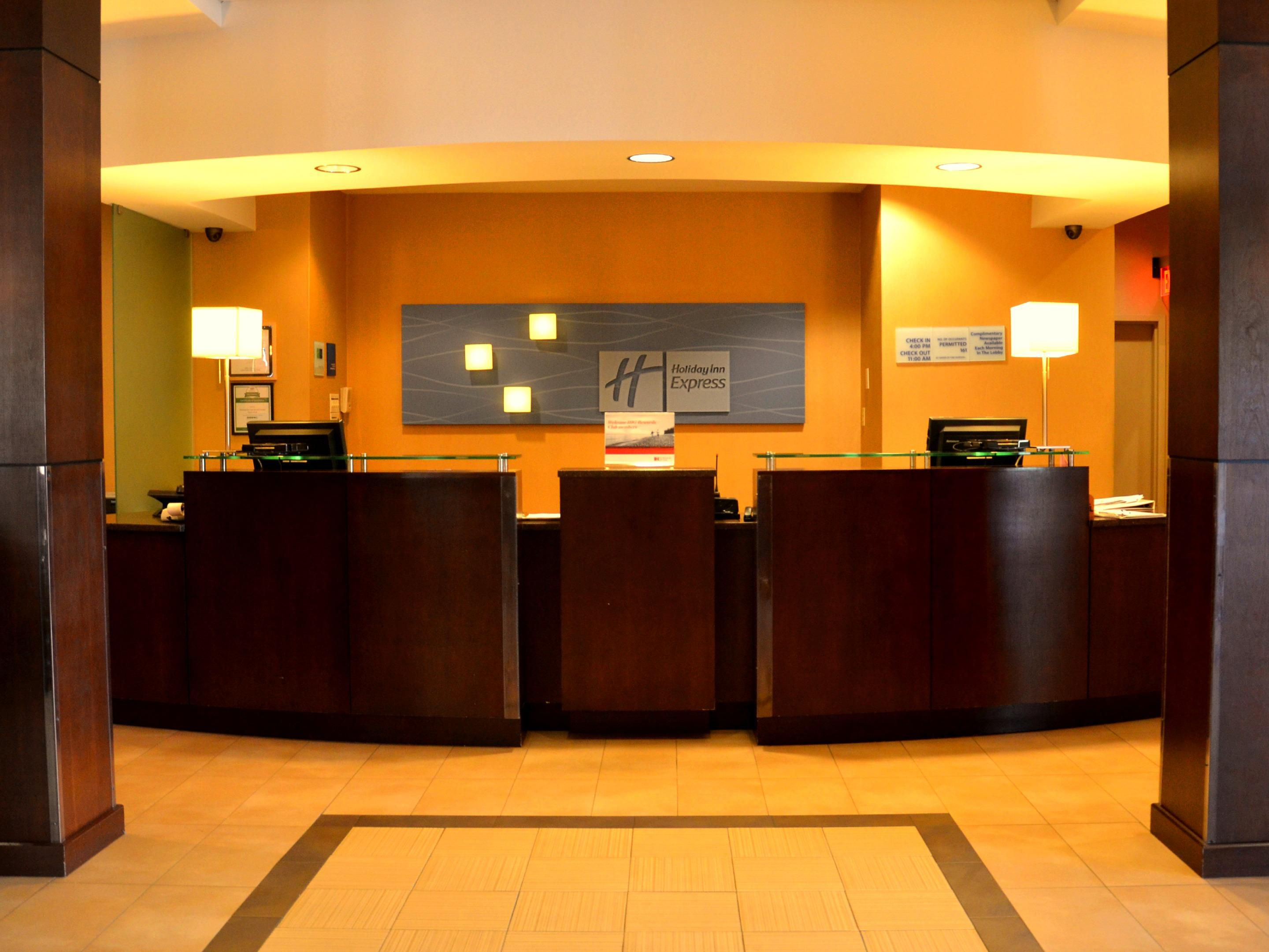Warm Welcome to Holiday Inn Express Daytona Beach Shores