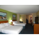 Queen Suite accommodates up to 6 people