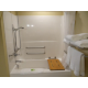 Accessible Bathtub with Extra Grab Bars for assistance