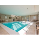 Holiday Inn Express and Suites Denver East Indoor Pool Hot Tub