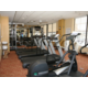 A Great Variety of Equipment is Offered in the Fitness Center