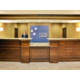 Holiday Inn Express & Suites Dubuque, IA Front desk