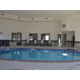 Stay Relaxed in our indoor saltwater pool and hot tub/Sauna