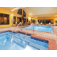 Our Beautiful indoor Salt Water Pool & Spa