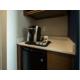 Keurig, Microwave and Fridge in every room.
